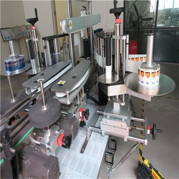 Elülső hátsó automatikus matrica címkéző gép öntapadó 330 mm maximális külső átmérő
