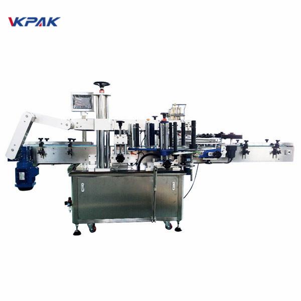 350 ml-es kerek injekciós matrica automatikus címkefelhordó gép