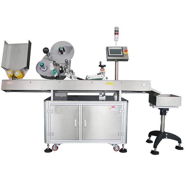 60-500 db Min gazdaságos automatikus gyógyszeripari palack injekciós üveg címkéző gép