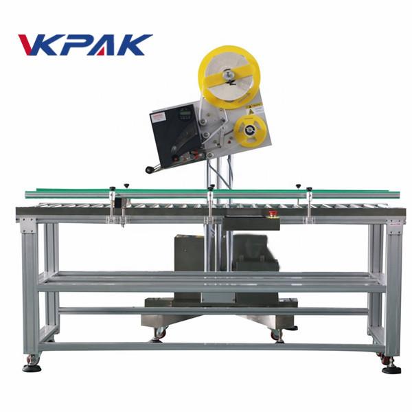 Automatikus boríték ipari címkefelhordó kisméretű papírdobozhoz