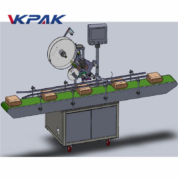 Automatikus adagoló felső címkéző gép