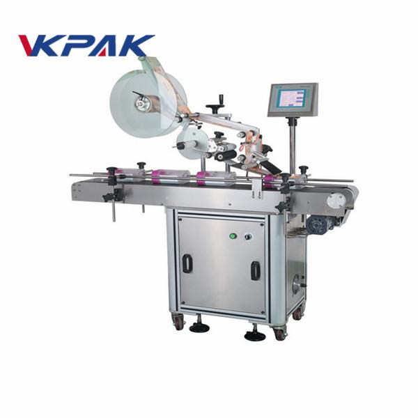Automatikus lapos felületű címkéző gép tasakokhoz
