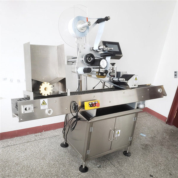 Automatikus kisállat kerek borosüveg címkéző gép
