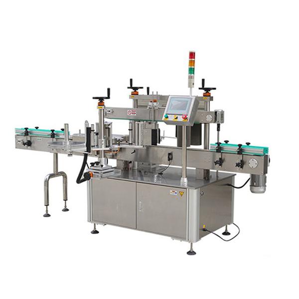 Automatikus kerek palack matrica címkéző gép dátum nyomtatóval