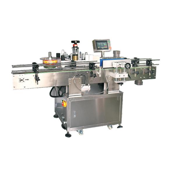 Automatikus kerek cső matrica tekercselés a kis üveg címkéző gép körül