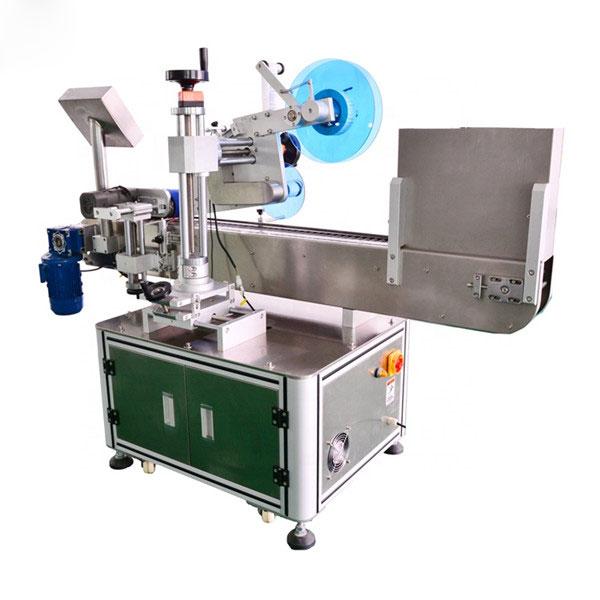 Automatikus injekciós üveg címkéző vízszintes címkéző gép alumínium ötvözet
