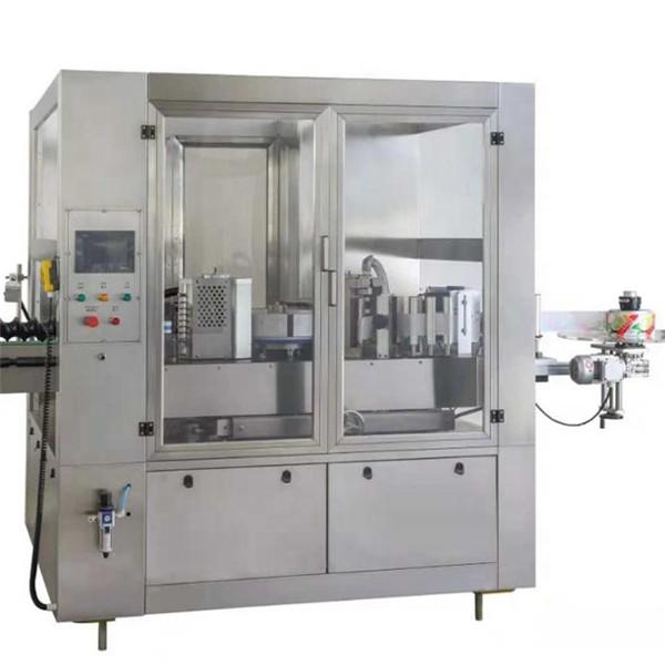 Sörösüveg címkéző gép, kerek üveg címkéző