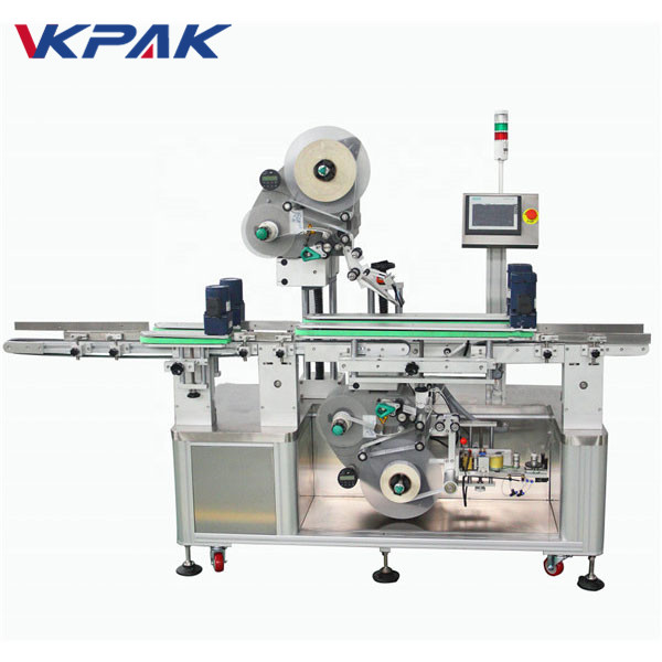 Palack felső és alsó címkéző gép