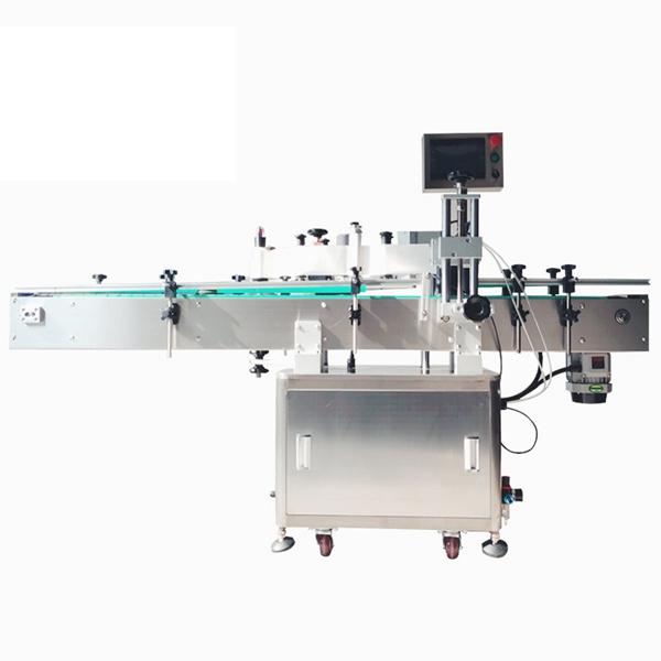 Kozmetikai öntapadó automata matricacímkéző gép kisállateledelekhez