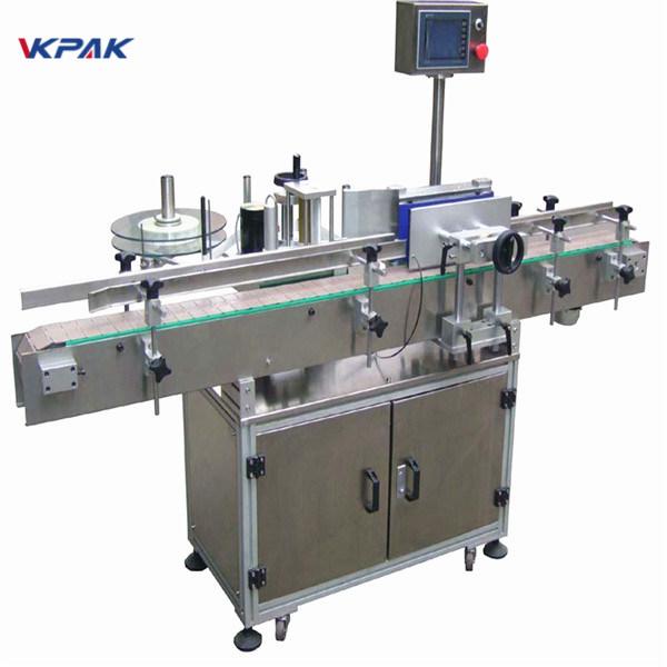 Testreszabott sörösüveg matrica címkéző gép 220V 20-200 db percenként