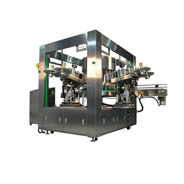 Hatékony palack forgó matrica címkéző gép berendezések