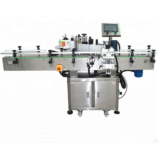 Elülső és hátsó címkéző gép, nagy sebességű címkéző 580 kg súly