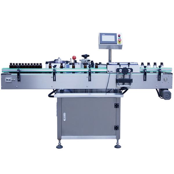 Üvegpalack öntapadó matrica címkéző gép, üvegedény címkéző gép