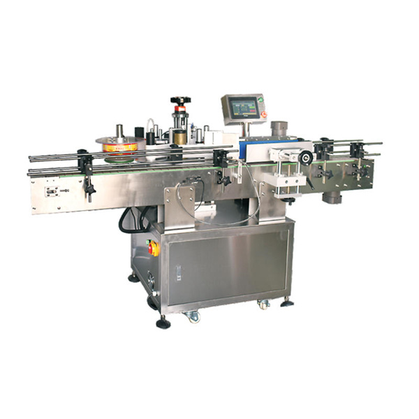 Nagy pontosságú kétoldalas matrica automatikus címkéző gép
