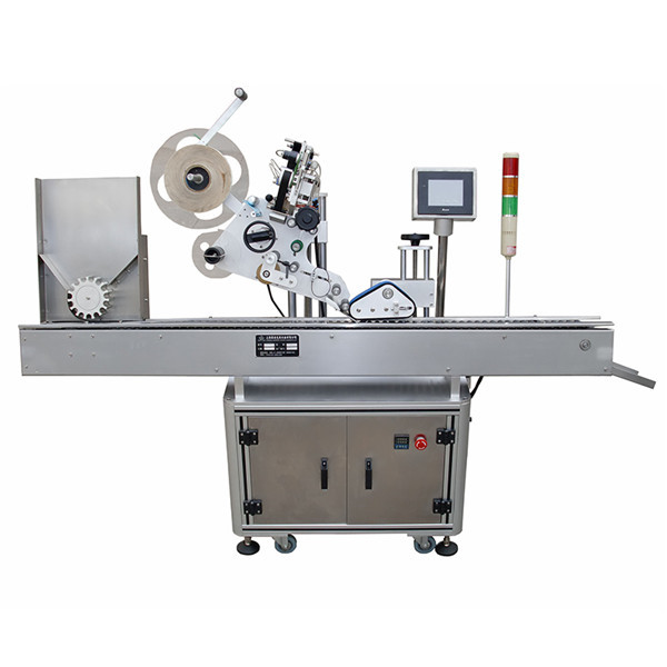 Nagy pontosságú injekciós üveg matrica címkéző gép a gyógyszeripar számára
