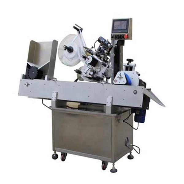 Nagy hatékonyságú kozmetikai injekciós üveg címkéző gép