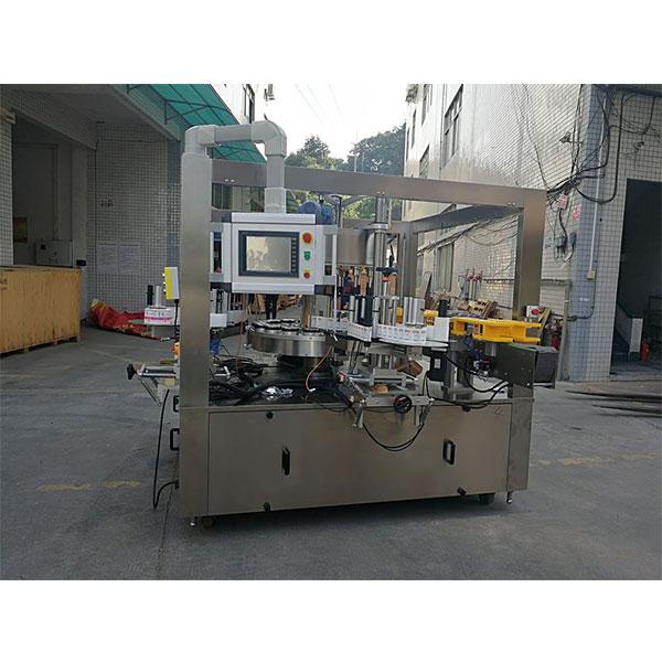 Nagy sebességű rotációs matrica címkéző gép töltőgép opciók övvel