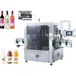 Nagy sebességű forgatható matrica címkéző gép forgatás funkcióval