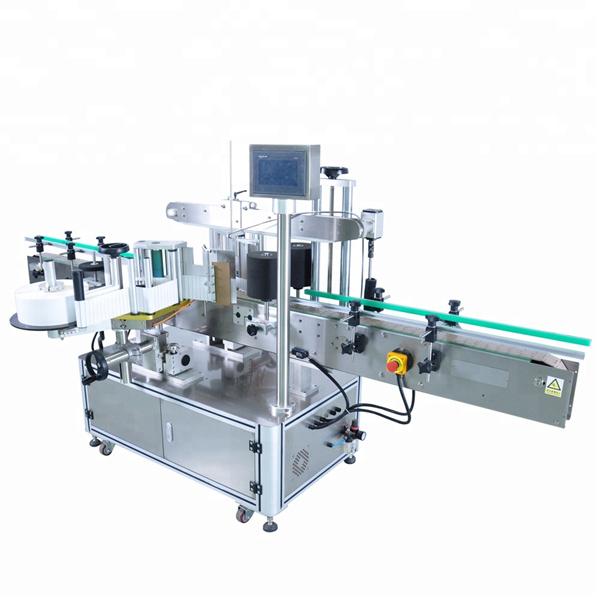 Nagy sebességű kerek palack matrica címkéző gép szabálytalan konténerekhez