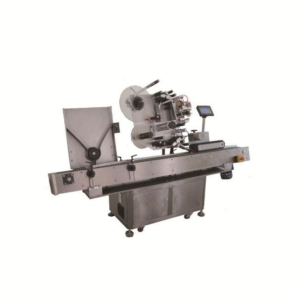 Nagy sebességű Sus304 Economy automata kerek injekciós üveg injekciós üveg címkéző gép