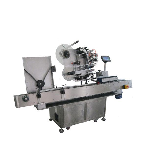 Nagy sebességű Sus304 Gazdaságos automatikus üdítőital palackok injekciós üveg címkéző gép