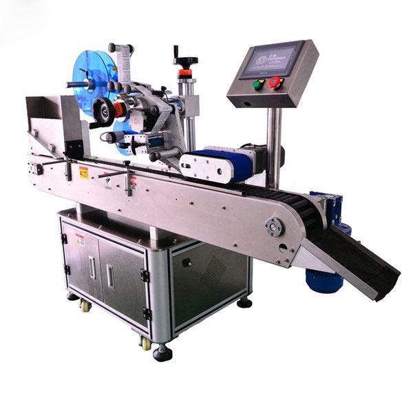 Intelligens vezérlés 10 ml-es kis üveg vízszintes címkéző gép