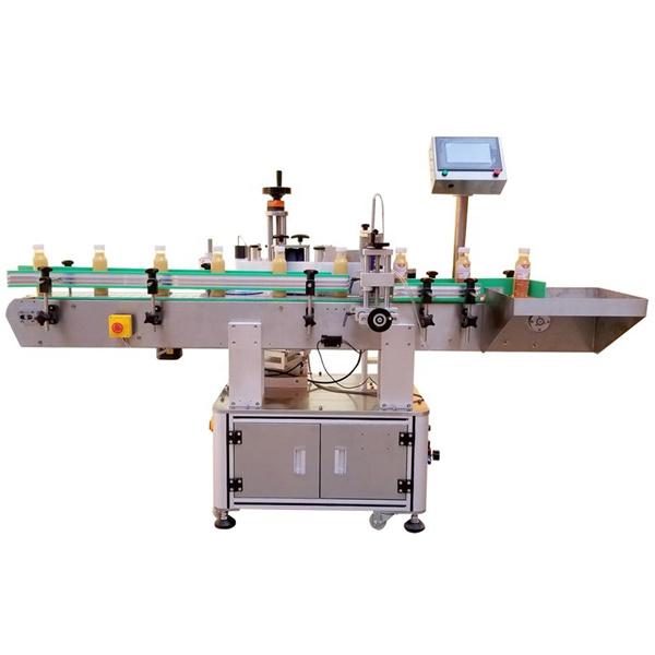 A gép típusának címkézése egyoldalas