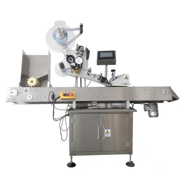 Magic Eye automatikus öntapadó matrica injekciós üveg címkéző gép