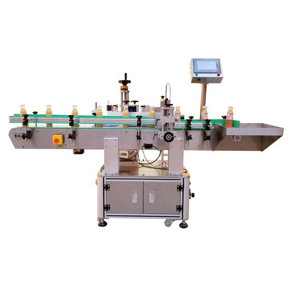 Professzionális palack matrica címkéző gép