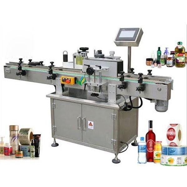 Kerek palackcímkéző gépek, tekerje körbe a címkefelhordót