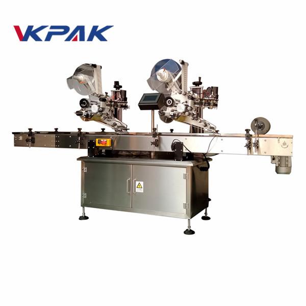 Tömítéses címkéző gép Felső címkéző címkéző gép