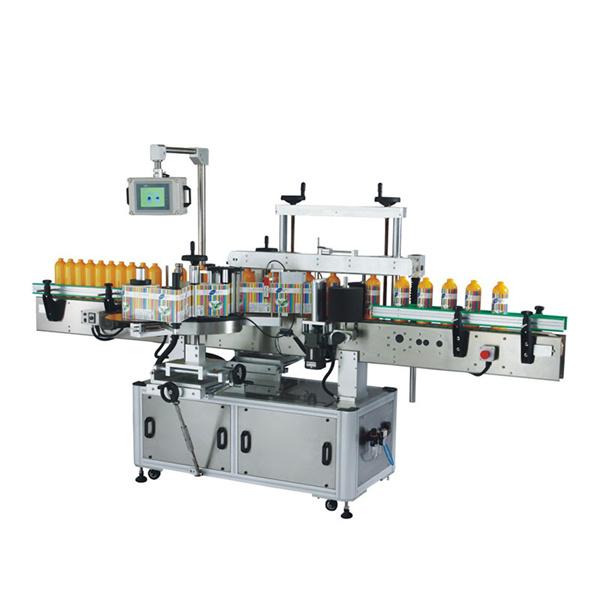 Öntapadó címkéző gép elöl és hátul