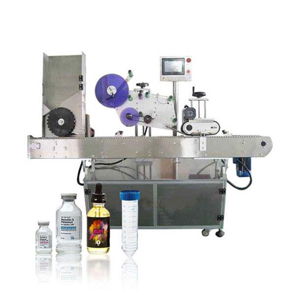 Siemens Nyrt. Injekciós üveg szervo vezérlő automatikus vízszintes címkéző gép