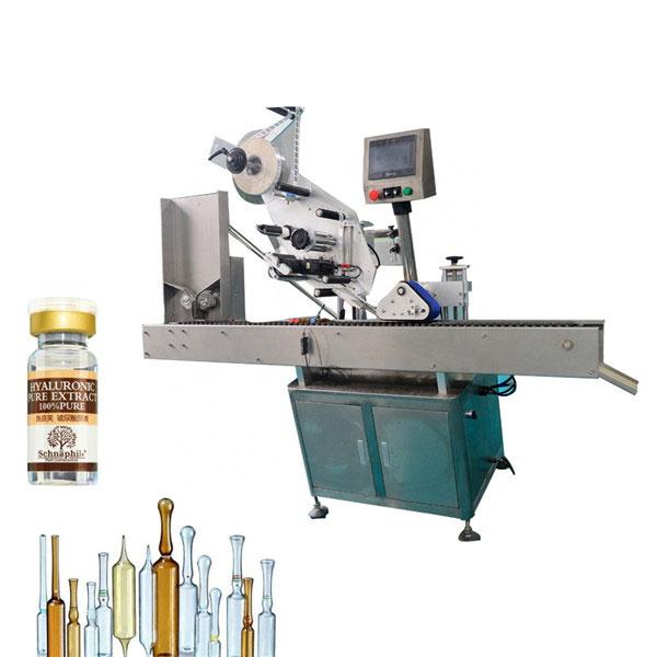 Kis kerek palackos üveg matrica címkéző gép 10 ml-es palackhoz