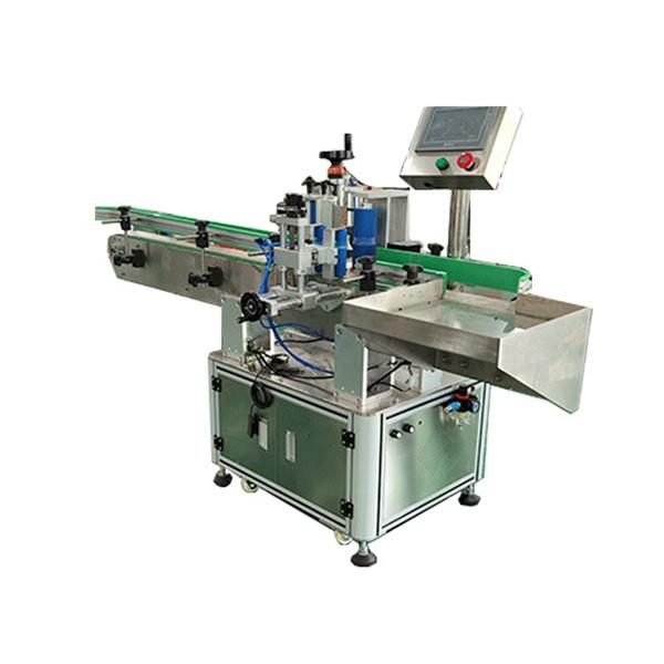 Négyzet alakú és kerek palackok automatizált címkéző gép