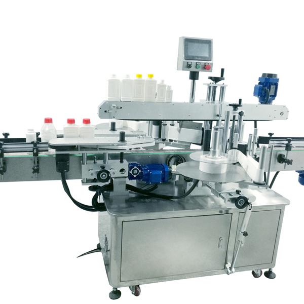 Négyzet alakú palack címkéző gép