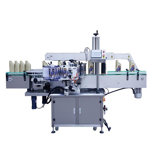 Szögletes palack címkéző gép