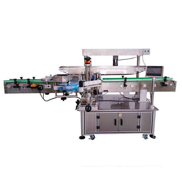 Három címkés öntapadó címkéző gép