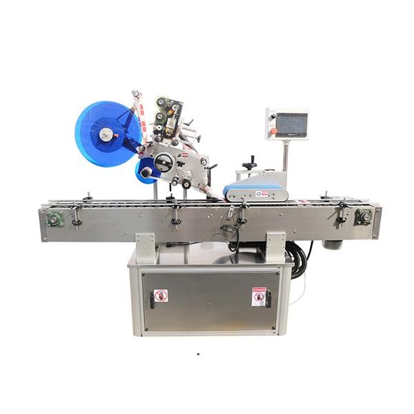 Felső és dupla oldali címkéző gép