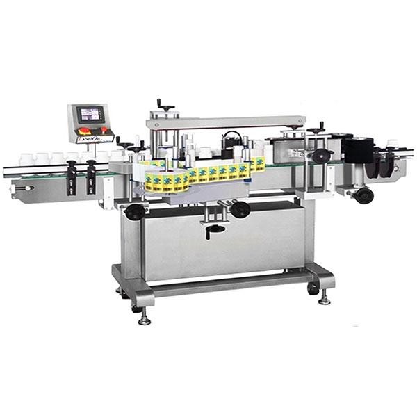 Borosüveg címkéző gép kétoldalas