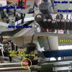 Kozmetikai palack matrica kerek palack címkéző / öntapadó címkéző gép