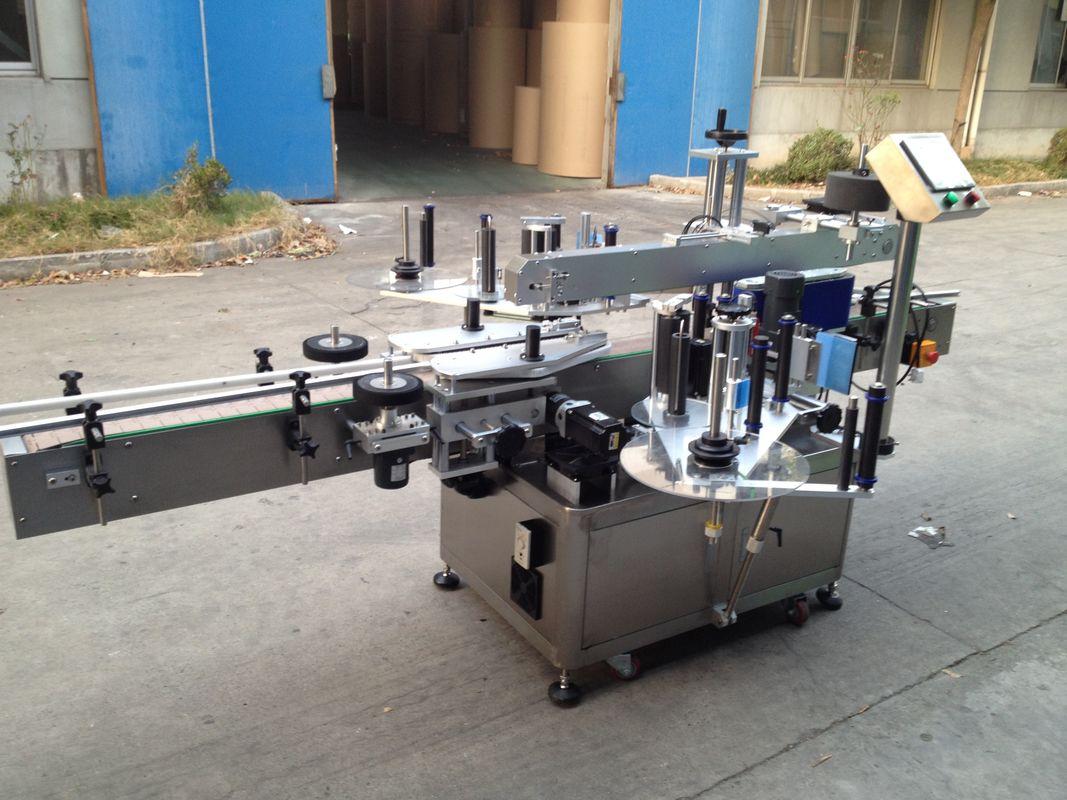 Nagynyomású palack automatikus matrica-applikátor, 550 kg-os automatikus címkéző gép