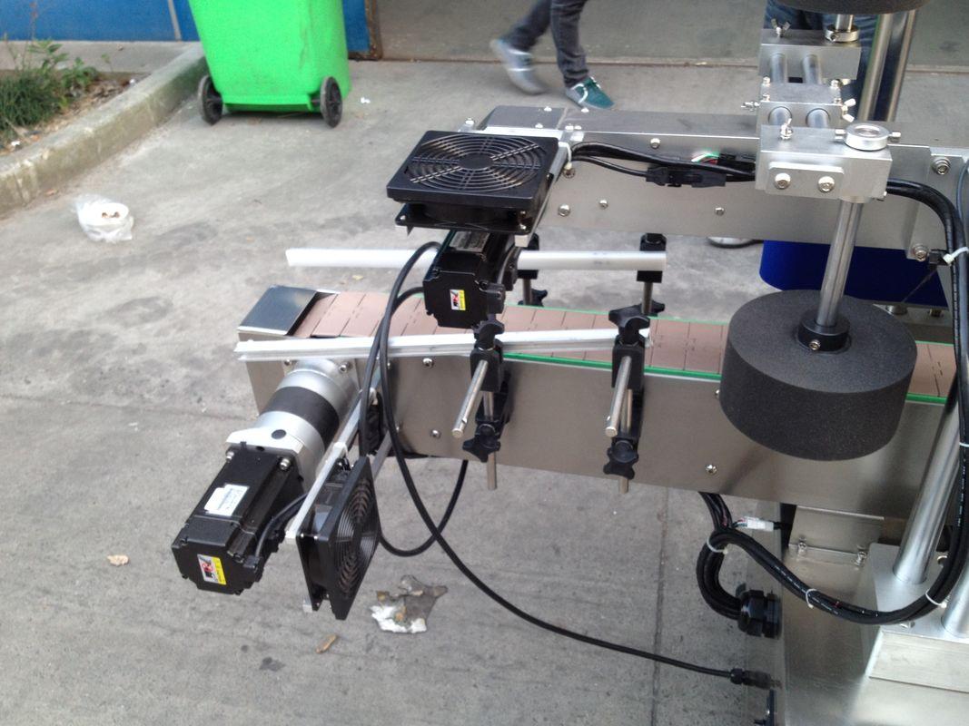 Hideg / nedves olvadék ragasztó címkéző gép kerek palackhoz