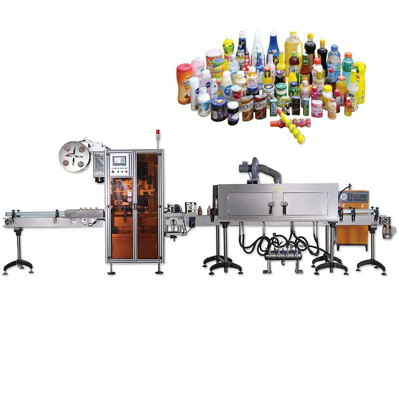 Hosszú élettartamú palack kupakot tömítő zsugorodó címkéző gépek