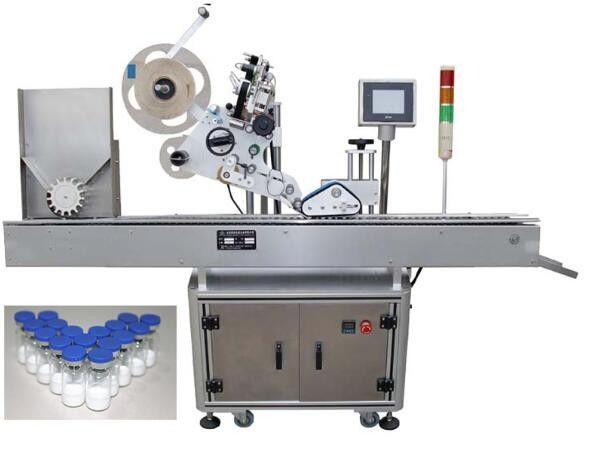 10 ml-es kis üveg címkéző gép gyógyszeripar számára