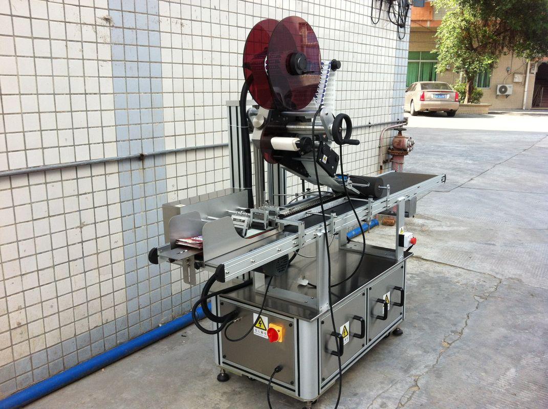 Elektromos meghajtó felső címkéző gép, öntapadó matrica címkéző gép