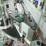 Automatikus kétoldalas matrica címkéző gép négyzet alakú kerek lapos üveghez