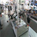 Műanyag vödör egyetlen nagysebességű címkéző gép, kétoldalas címkéző gép