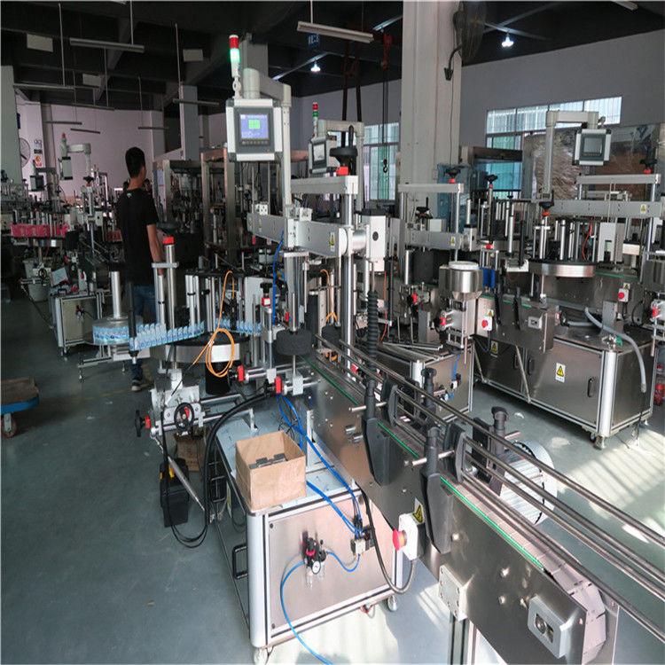 Kína műanyag palack címkéző gép, ivóvíz ásványvíz palack címkéző gép szállítója