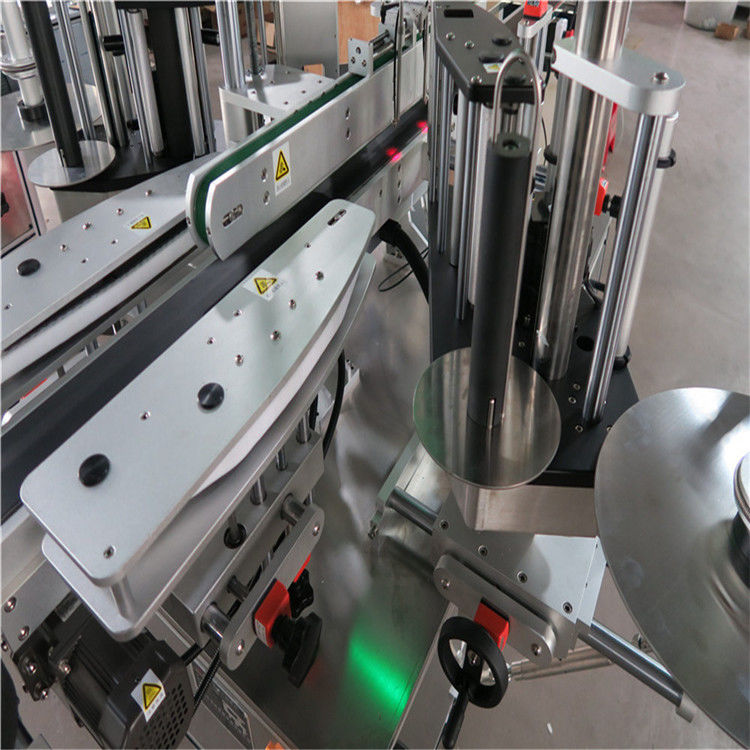 CE automatikus matrica címkéző gép, elülső és hátsó palack címkéző gép